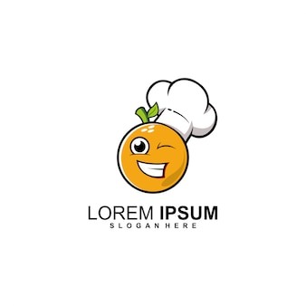 Logo du chef orange