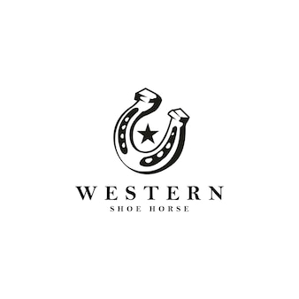 Logo du cheval westrern soe
