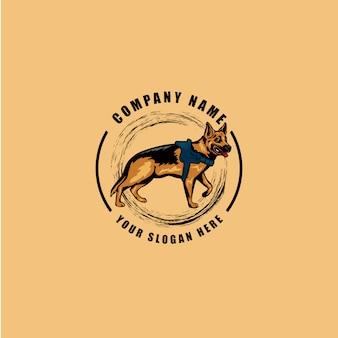 Le logo du chien
