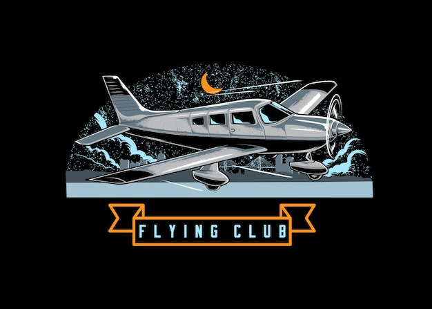 Logo du club d'aviation