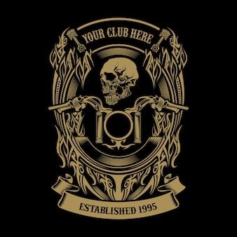 Logo du club moto