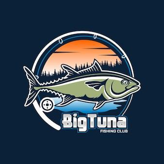 Logo du club de pêche au gros thon