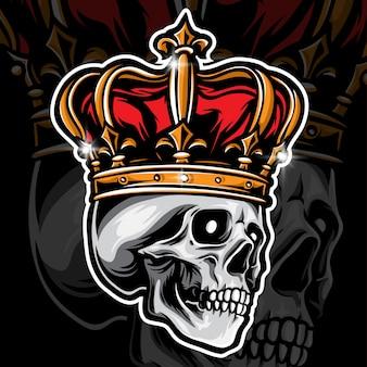 Logo du crâne du roi