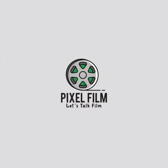 Logo du film avec un fond gris