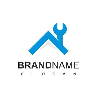 Logo du garage, symbole du centre de service