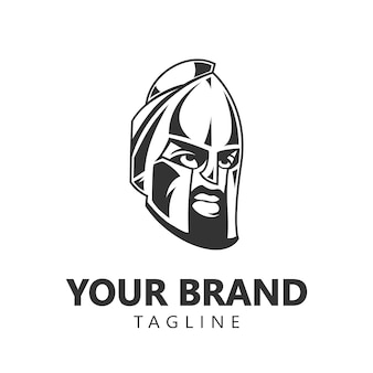 Logo du guerrier spartiate