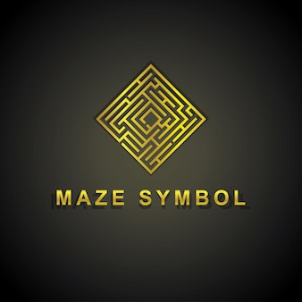 Logo du labyrinthe d'or