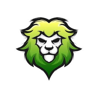 Logo du lion vert