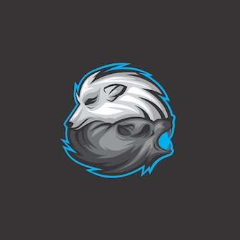 Logo du loup