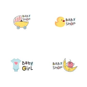 Logo du magasin de bébé