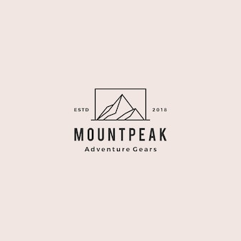 Logo du mont mount peak