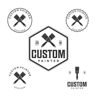 Logo du peintre vintage