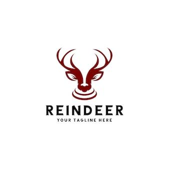 Le logo du renne prêt à l'emploi