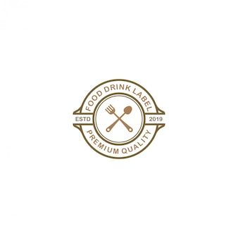 Logo du restaurant - boisson alimentaire