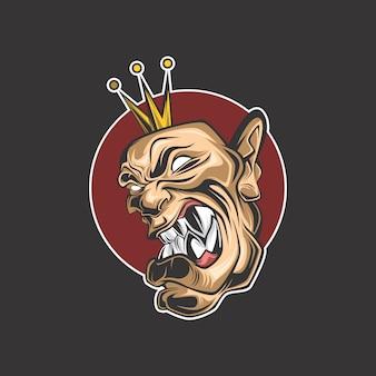 Logo du roi fou