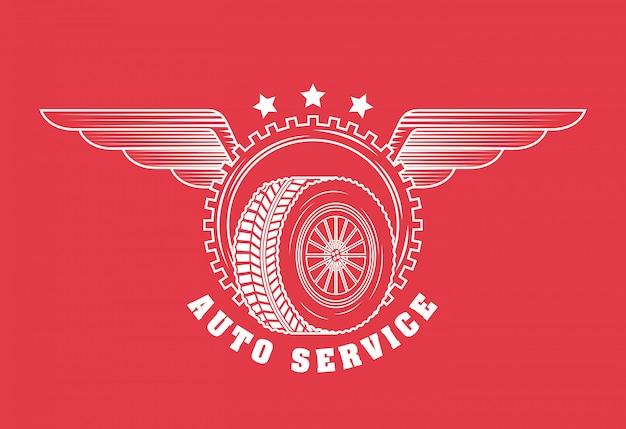 Logo du service de réparation automobile