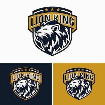 Logo du sport de tête des lions