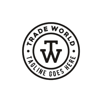 Logo du timbre initial tw