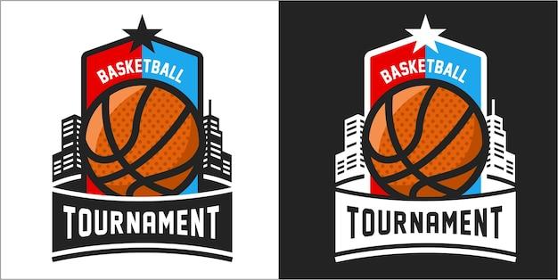 Logo du tournoi de basketball