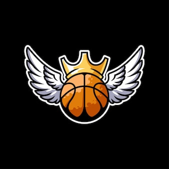 Logo du tournoi de championnat de basket-ball esport