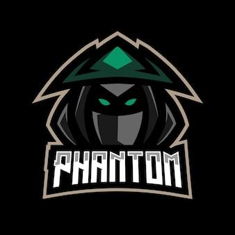 Logo e-sport fantôme