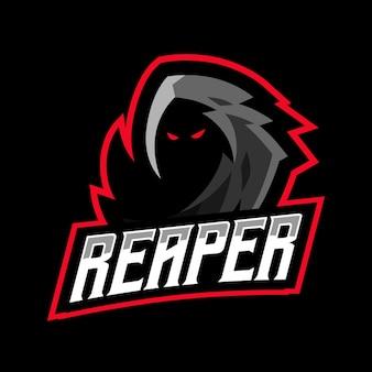 Logo e-sport de la faucheuse