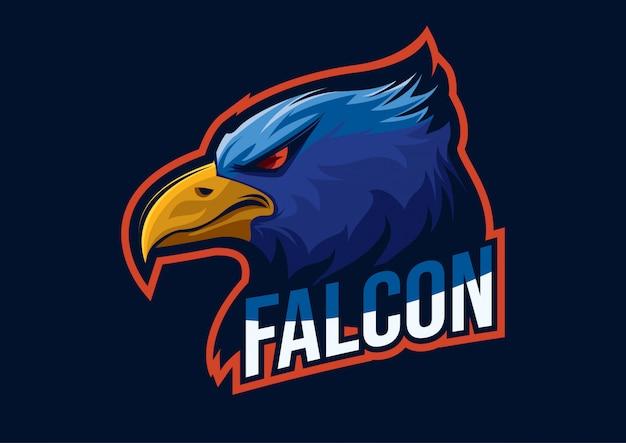 Logo e-sport avec le thème de base de l'aigle