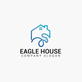Logo eagle house