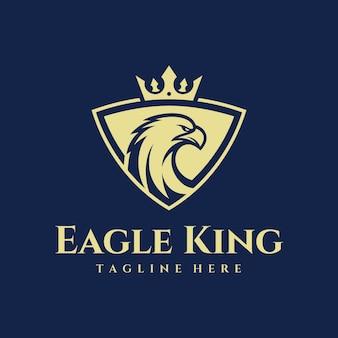 Logo eagle king