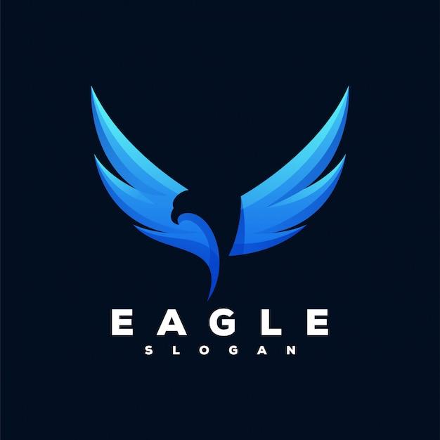 Logo eagle prêt à l'emploi