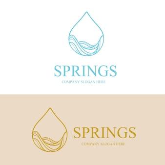 Logo de l'eau de source