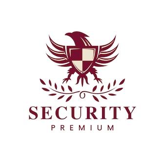 Logo emblème de l'aigle royal