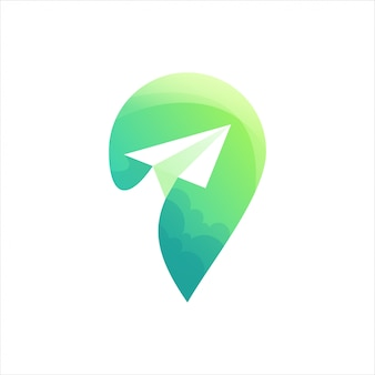 Logo emplacement vert