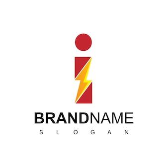 Logo de l'énergie lettre i