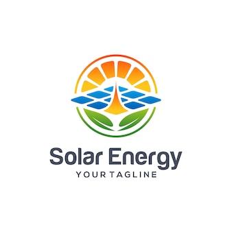 Logo de l'énergie solaire