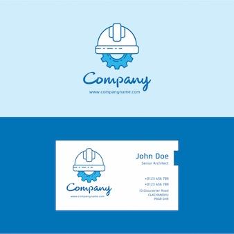 Logo de l'entreprise et carte de visite