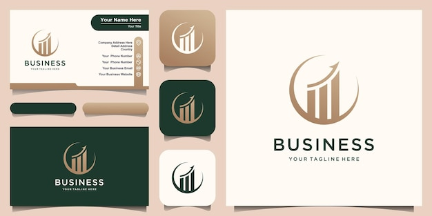 Logo d'entreprise finance