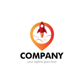 Logo de l'entreprise de localisation de fusée
