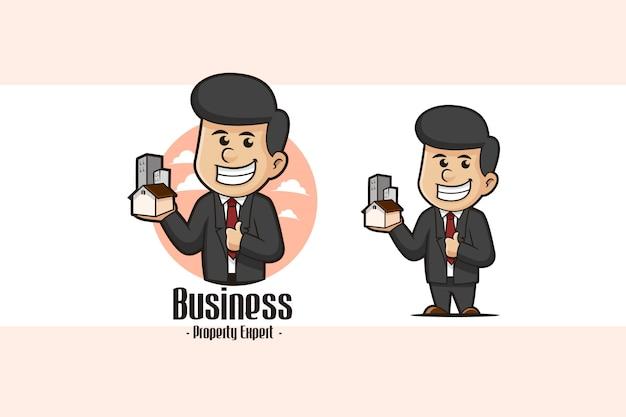 Logo d'entreprise de propriété