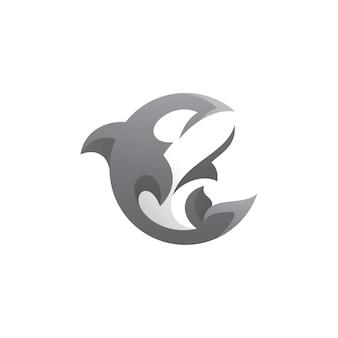 Logo de l'épaulard orque