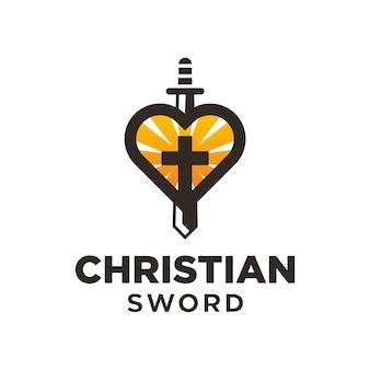 Logo de l'épée chrétienne