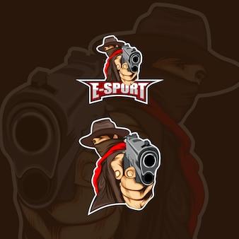 Logo de l'équipe de cowboy esport