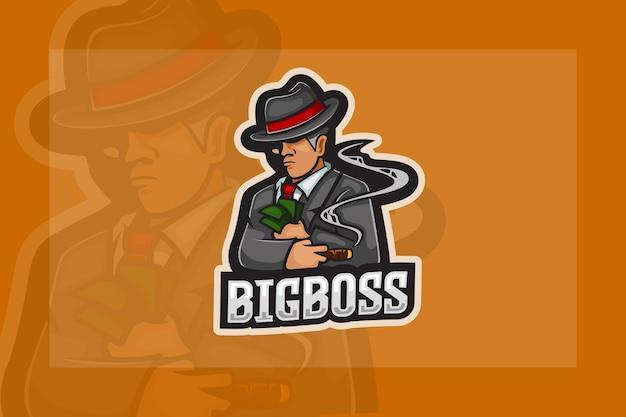 Logo esport bigboss mafia