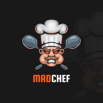 Logo esport chef fou