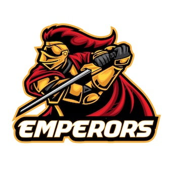 Logo esport chevalier empereurs
