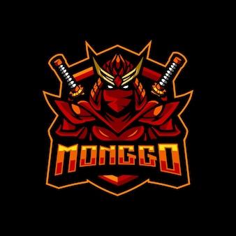 Logo d'esport de chevalier