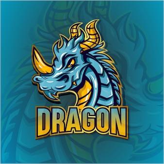 Logo esport dragon