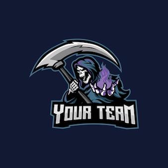 Logo esport de la faucheuse