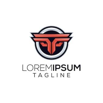 Logo esport de jeu ff