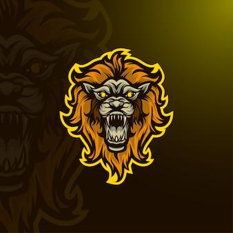 Logo esport lion